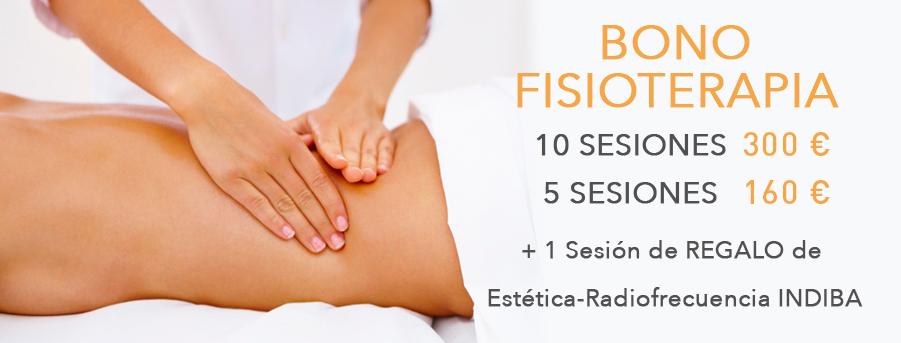 Promoción Bono de 10 sesiones de Fisioterapia